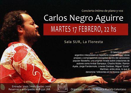 Concierto Carlos Negro Aguirre 2015